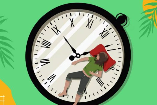 Optimise the connection between meal time and sleep time